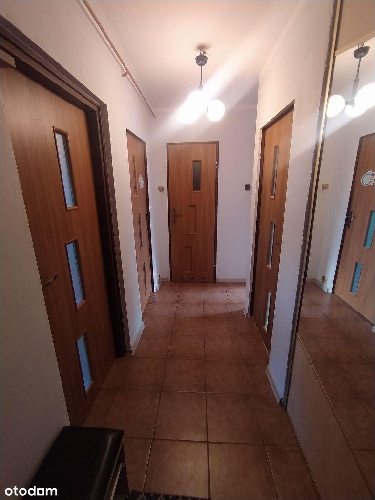 3 pokoje, osobna kuchnia, duży balkon 55,8m2