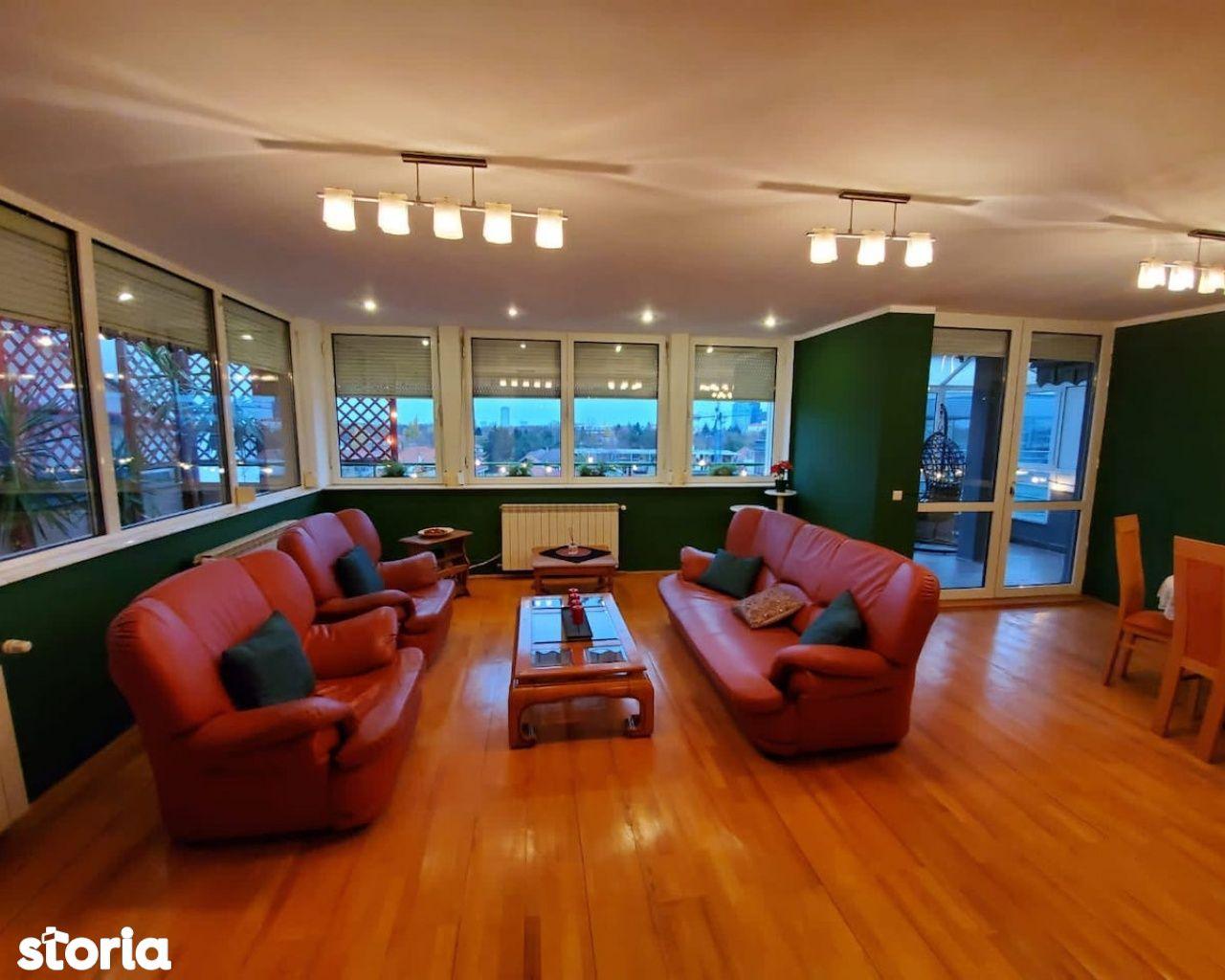 Vanzare-Inchiriere Penthouse 5 camere Clucerului-Kiseleff