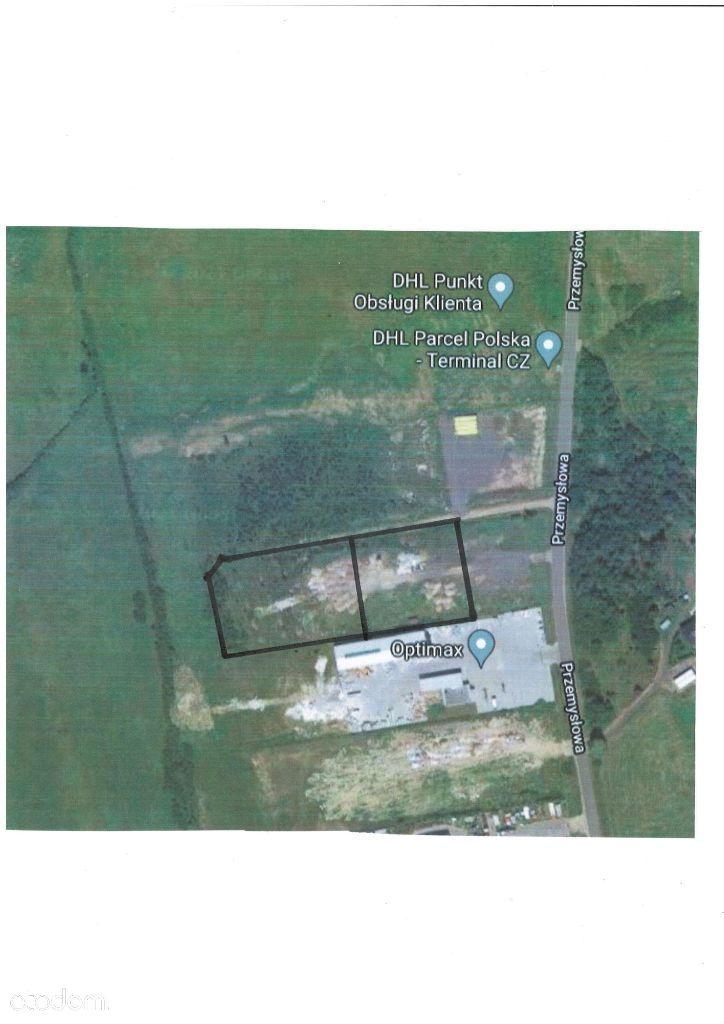 Działka przemysłowa 3965 m2