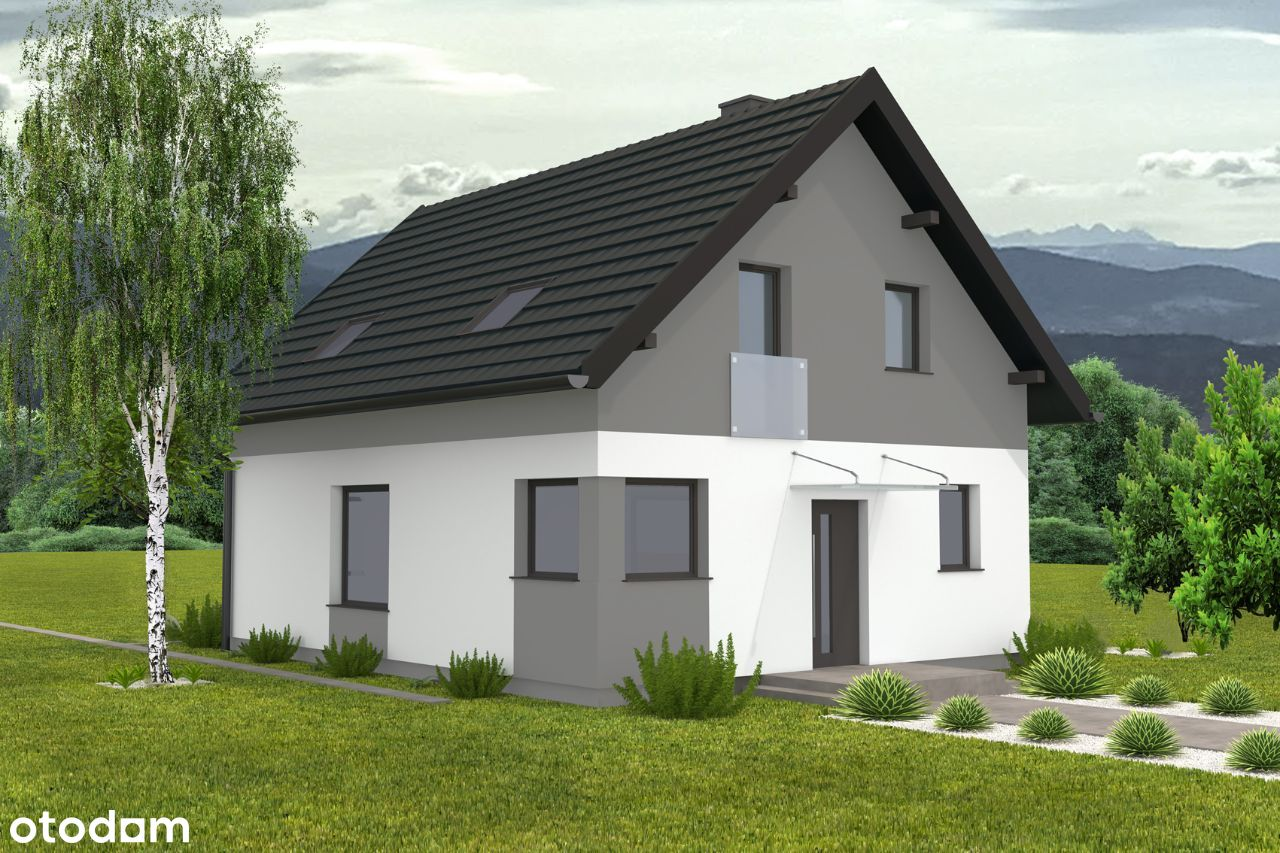 Wolnostojący dom w Raciborsku od dewelopera - 0%.