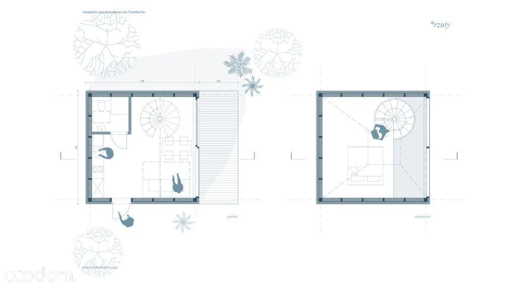 Dom, 39 m², Frombork