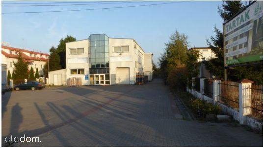 Budynek magazynowo-biurowy+ dom/ Białe Błota