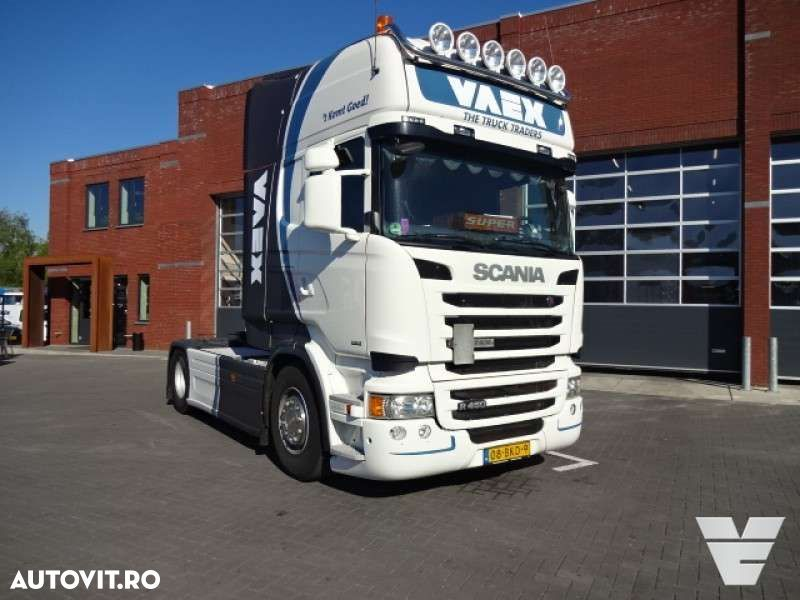 Scania R450 Euro 6, Topline, Opticruise 2-pedal, Retarder - 1