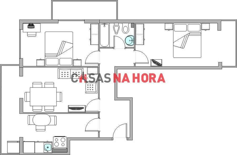 Apartamento para comprar, Massamá e Monte Abraão, Lisboa - Foto 7