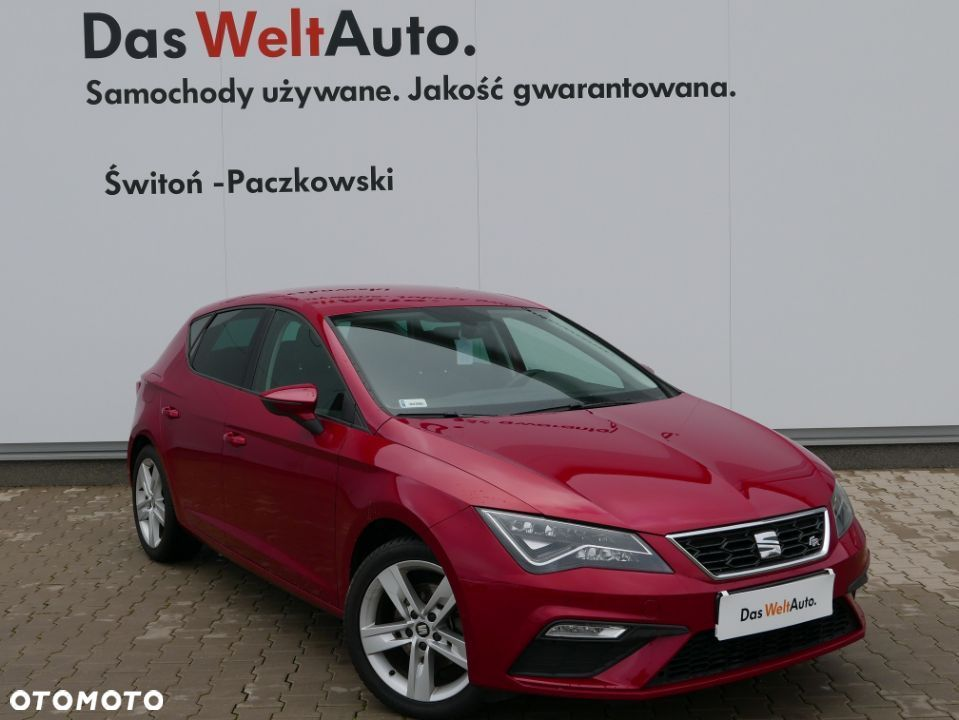 Seat Leon 1.4 TSI 125KM FR Line Manual Full Led Salon Polska Gwarancja - 1