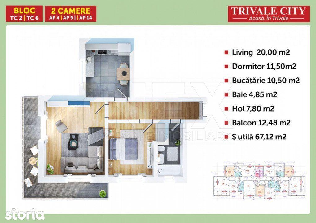 iNEX.ro   Apartament 2 camere in Trivale City   Avans 5%