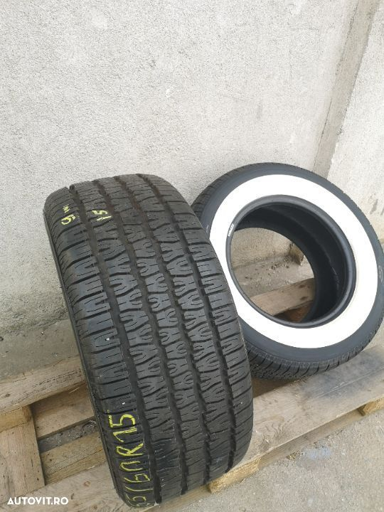 255/60 R15 Bf Goodrich Old Timer | White Wall - 2 Anvelope SH All seasons 255 60 15 M+S - 2