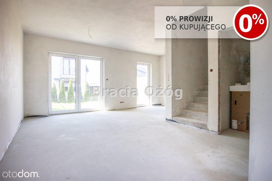 Szeregówka, mieszkanie stan deweloperski, Zalesie!