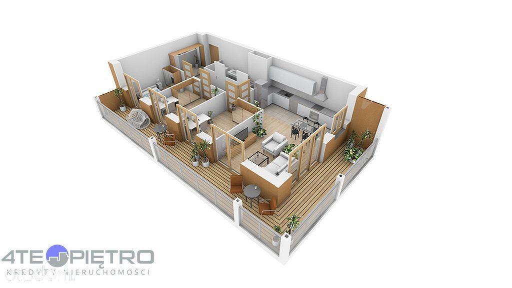 Nowe, 4 pokoje + Ak, 73m2, taras, Czuby, 2022r