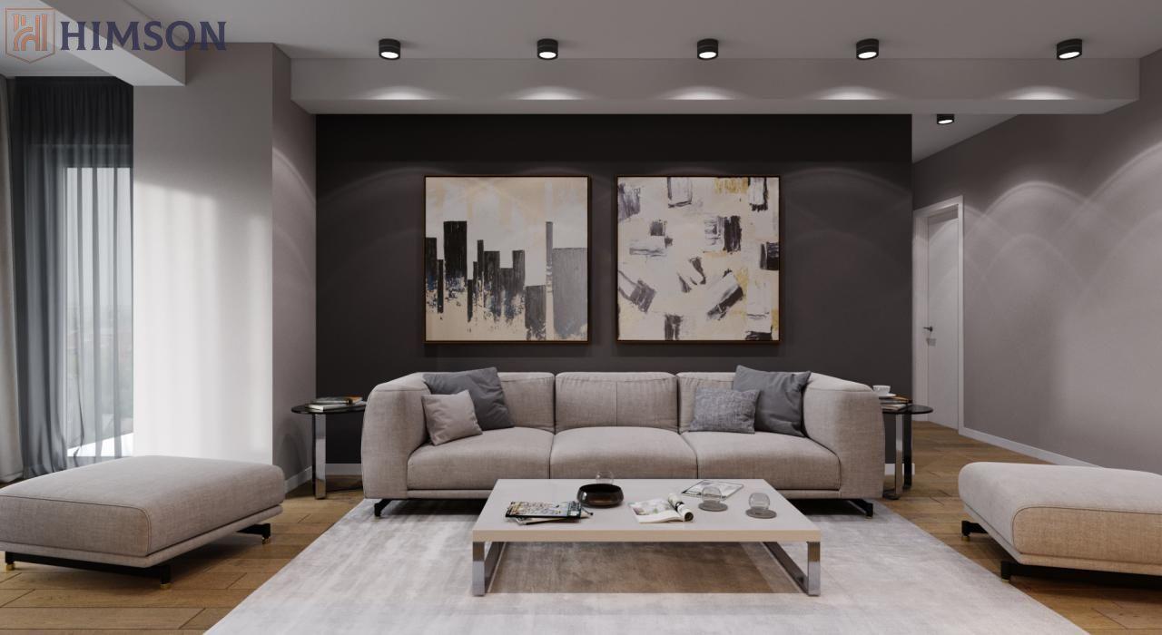 Apartament bloc nou HIMSON, 3 camere decomandat, 88.53mp