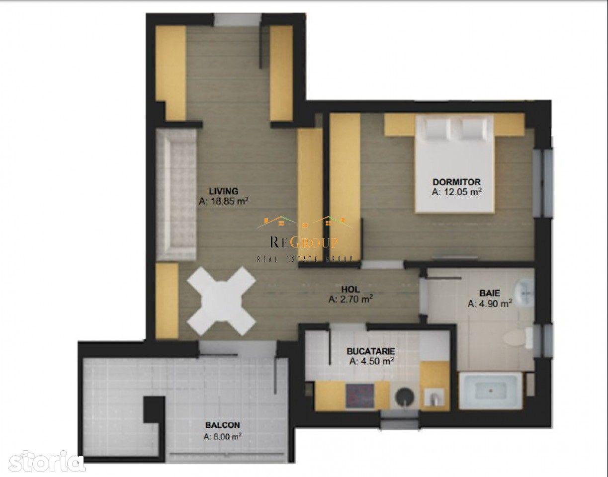 Apartament cu 2 camere de vanzare - CUG