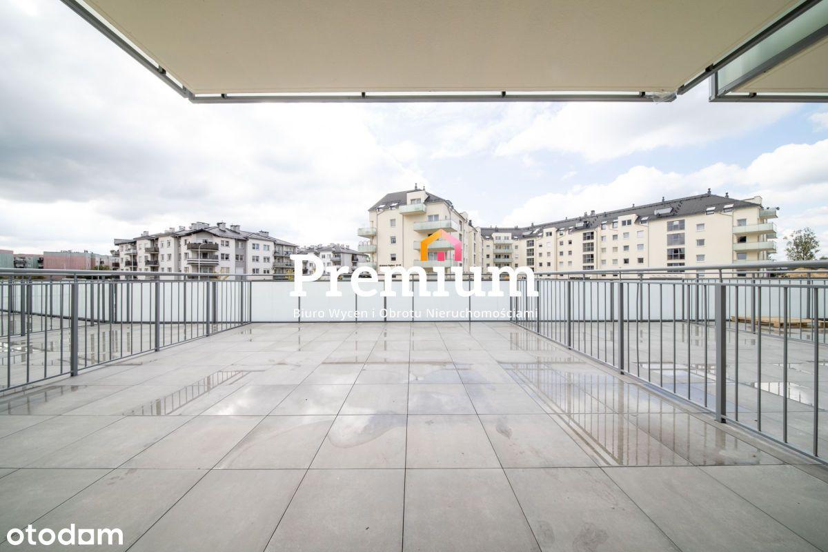 2 pokoje, taras, parter, blok z 2021 r.