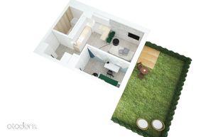Mieszkanie 2-pokojowe z ogrodem, Zielone Miasto