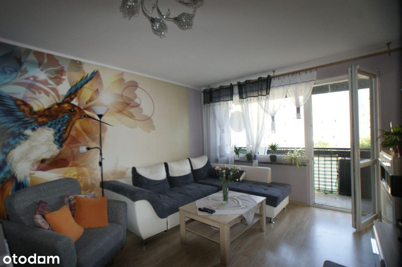 2 pokoje 48 m2 umeblowane z balkonem Zwm