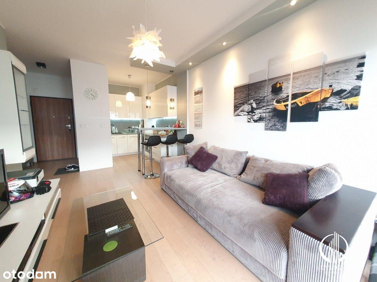 2-pokojowe mieszkanie na Wilanowie, garaż, balkon