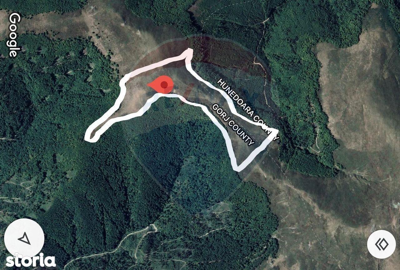Teren 518,400mp Targu-Jiu / Drumul runcu