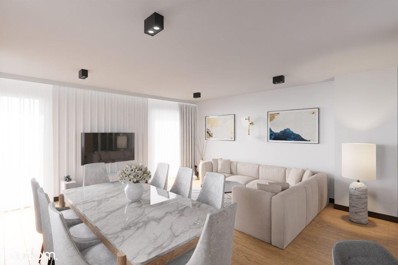 Lux apartament typu penthouse Ślichowice