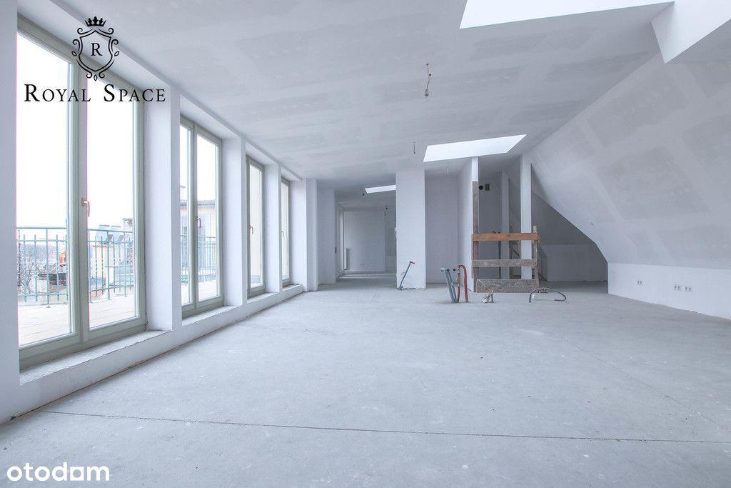 Widokowy penthouse z tarasem przy ul. Rakowickiej