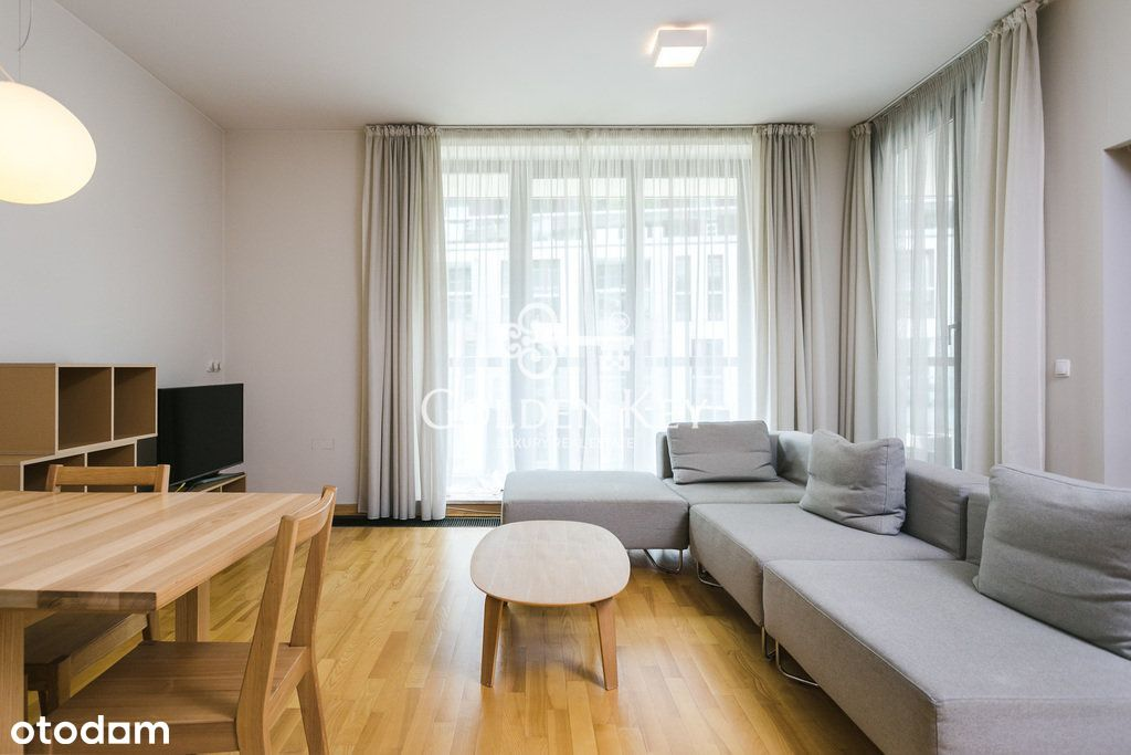 Piękny minimalistyczny apartament na Powislu