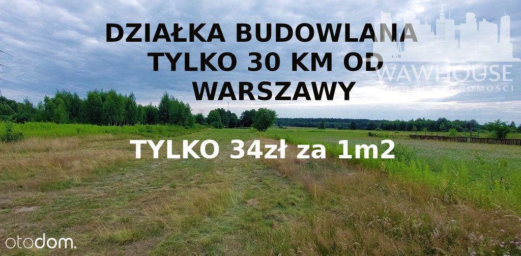 Działka budowlana.Tylko 30 km od Warszawy.Michałów