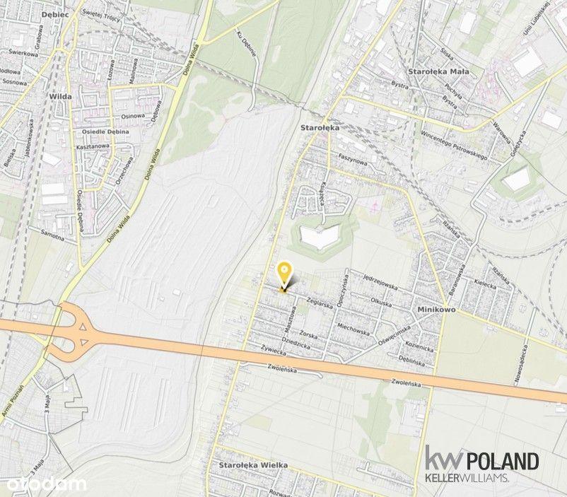 Działka budowlana Poznań starołęka 1.092m2