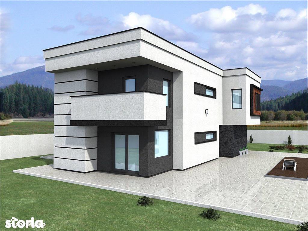 Geamana: vila moderna, suprafata 300 mp, 2000 mp teren