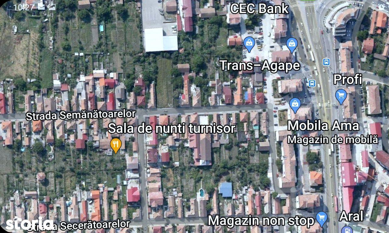 teren construcție casa, cartierul Turnisor, Sibiu