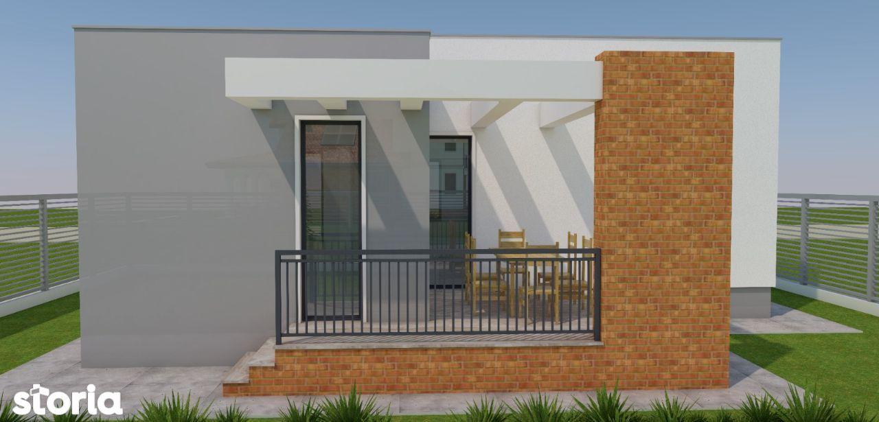 Casa chocheta si individiuala,cu design deosebit,Zona Mamina.