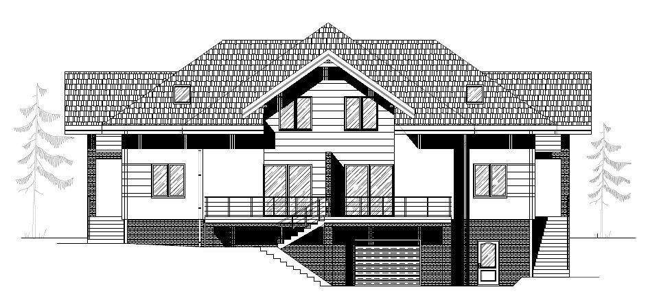 Duży dom lub 2 w zabudowie bliźniaczej w budowie
