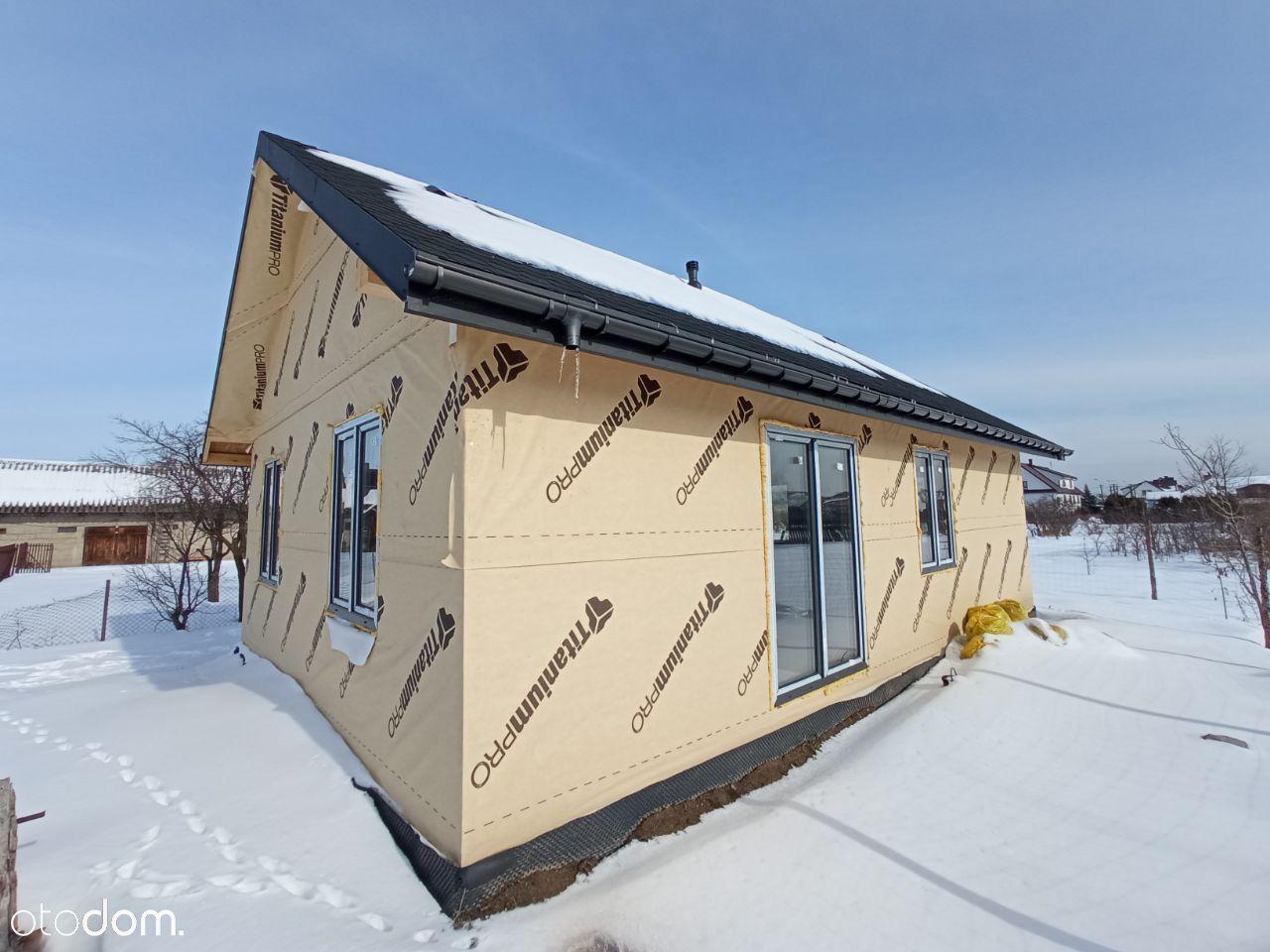 Nowy dom, 52 m2 Użytkowe, ul. Górna, działka 871m2