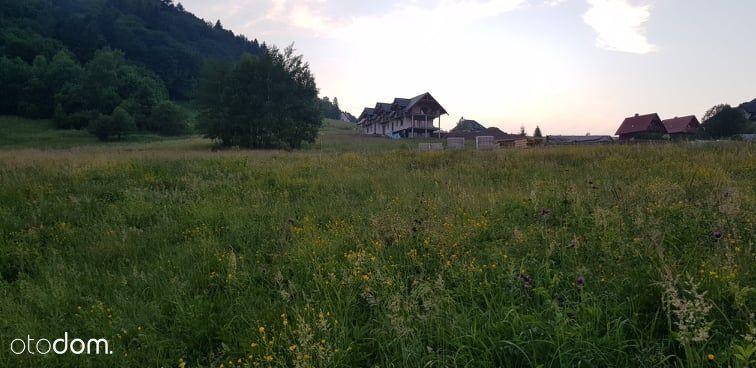 Działka w centrum Cisnej