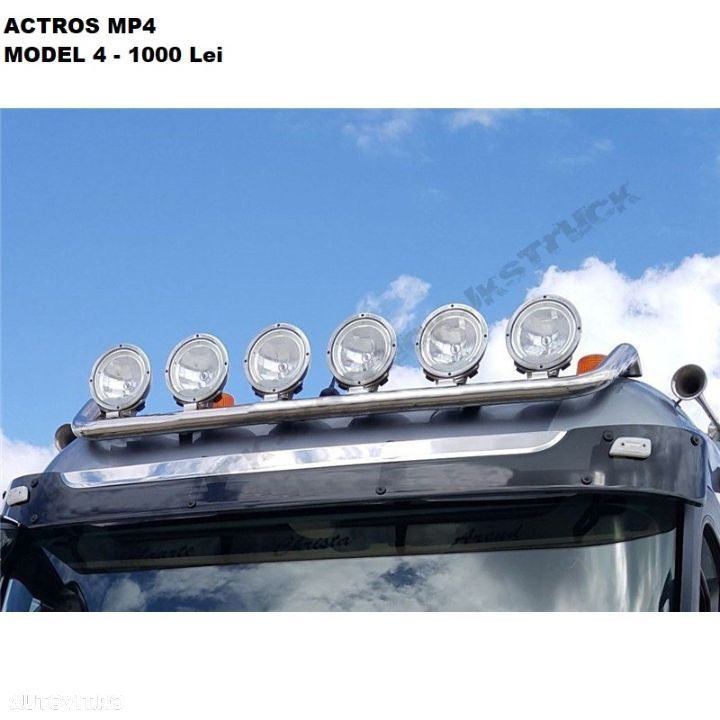 Bullbar Mercedes Actros Mp4 - 4