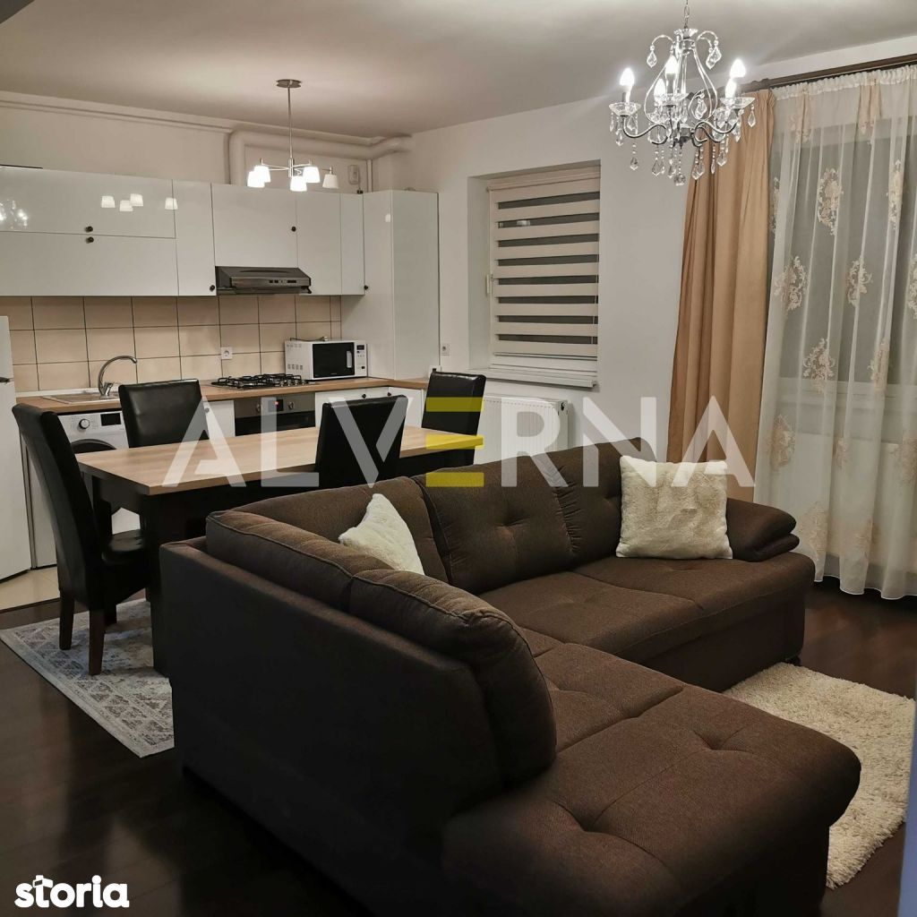 Apartament 2 camere, 60mp, mobilat si utilat, 2 balcoane - Stejarului