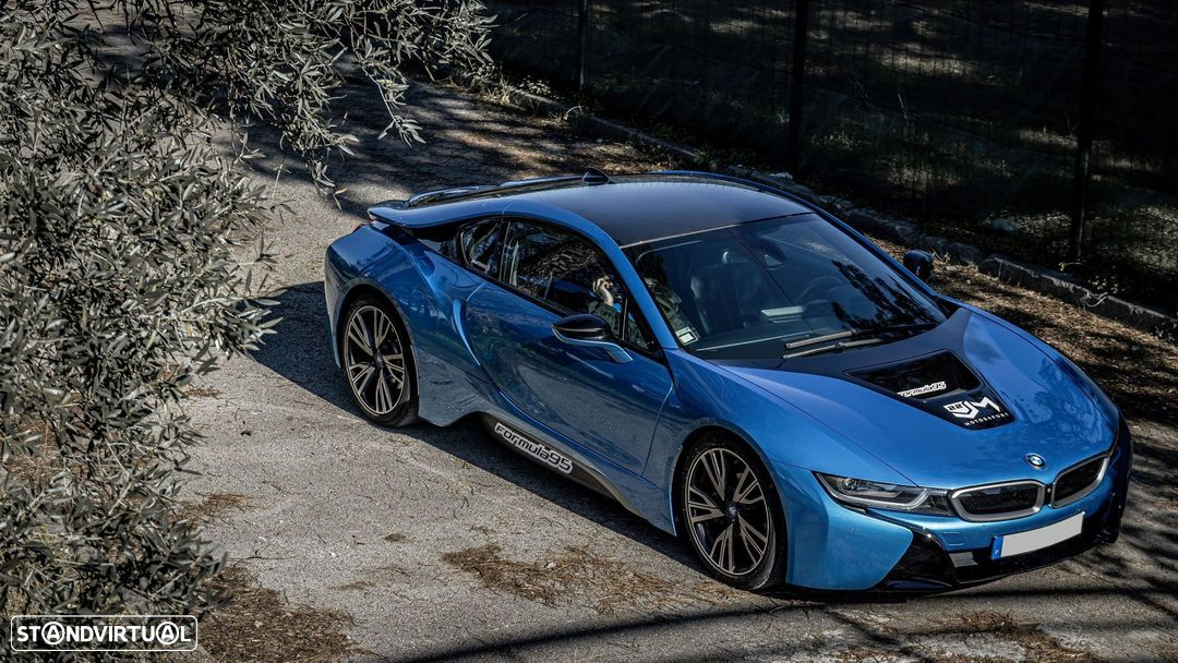 BMW i8 e-Drive Blue Protonic - 3