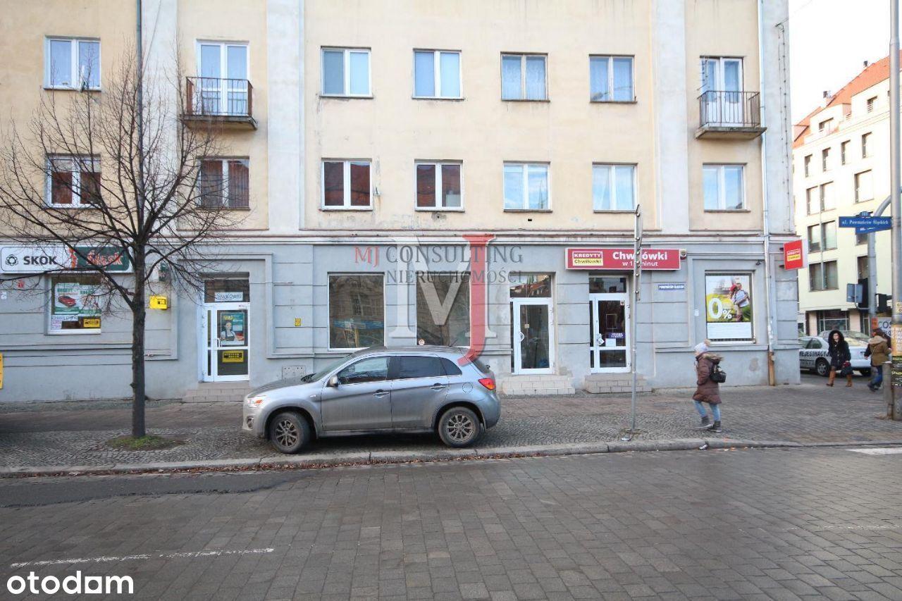 Wrocław, ul Pow. Śl. parter witryny, 91 m2 parking