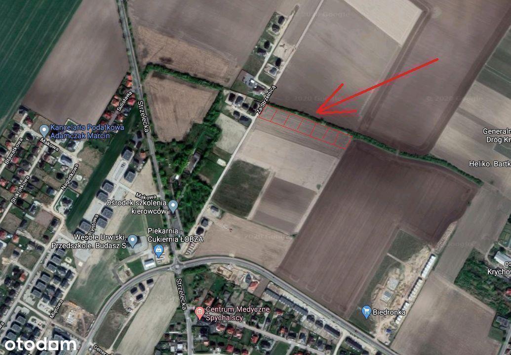Działka, 1 070 m², Środa Wielkopolska