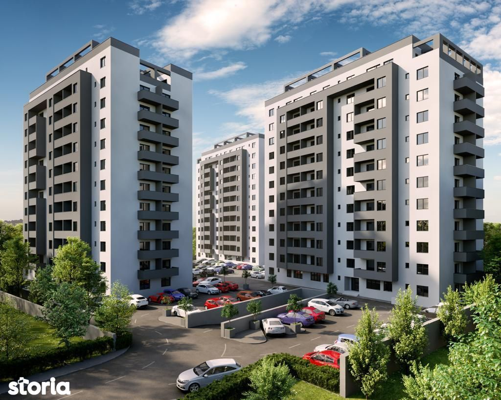 Happy Residence 2! Apartament 2 camere preț 78.000 euro plus TVA 5%