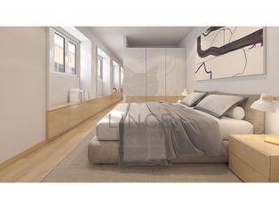 Apartamento T1 Príncipe Real - Piso 0 com 54,55 m2