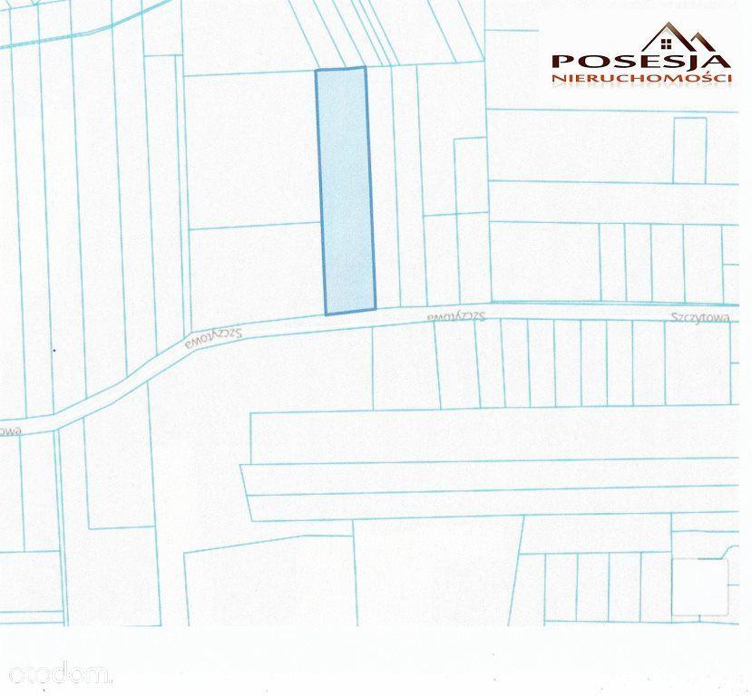 Działka budowlana7330m2 Brzeziny-Kolonia sz:40m