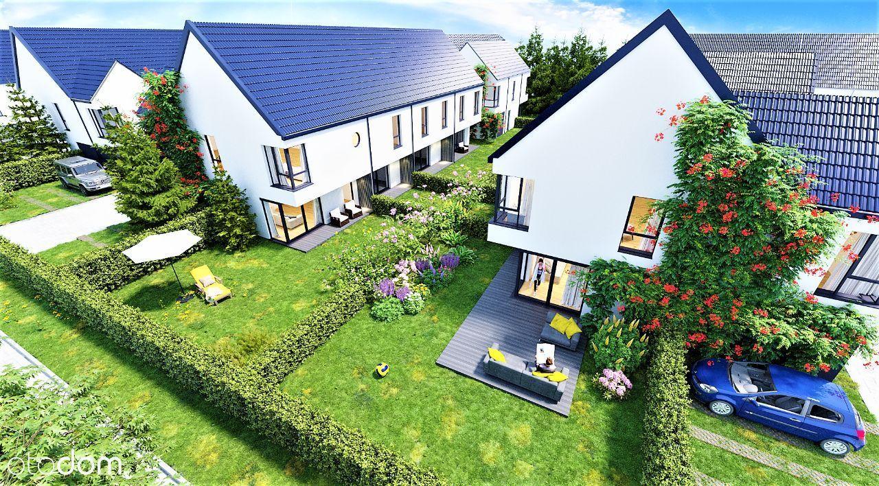 Domy 160m2 z ogrodami, garaż +1m.parkingowe GRATIS