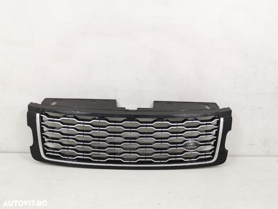 Grila radiator Range Rover Vogue facelift an 2016-2019 originala in stare buna - 6