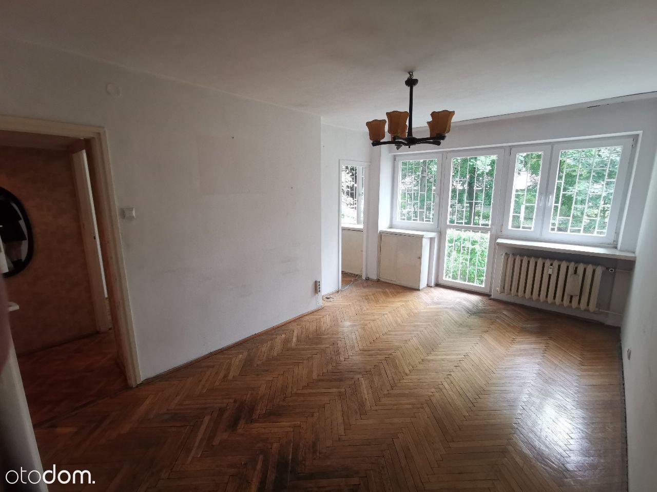 Mieszkanie 37m2 2 pokoje ogródek, Sady Żoliborskie