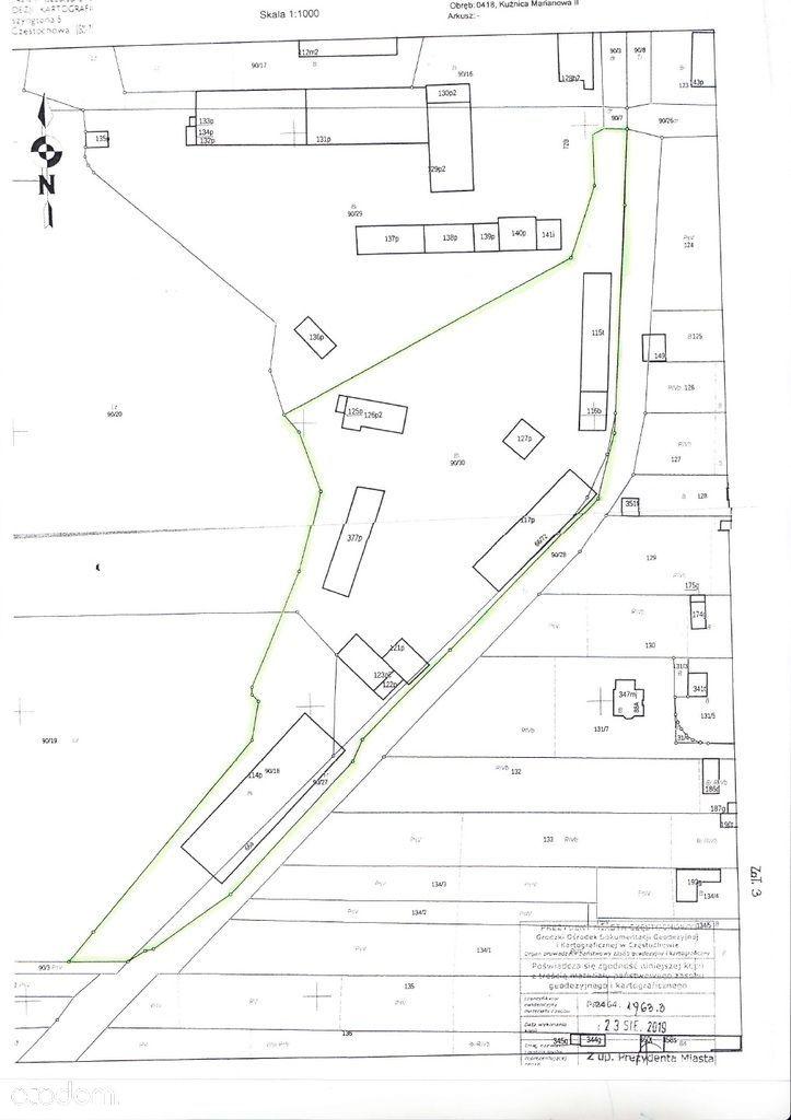 Działka, 15 734 m², Częstochowa