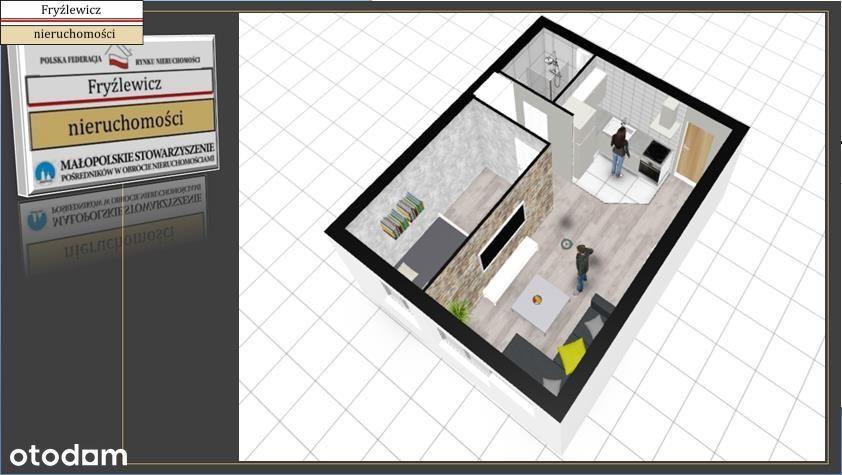 Mieszkanie, 37,14 m², Nowy Sącz