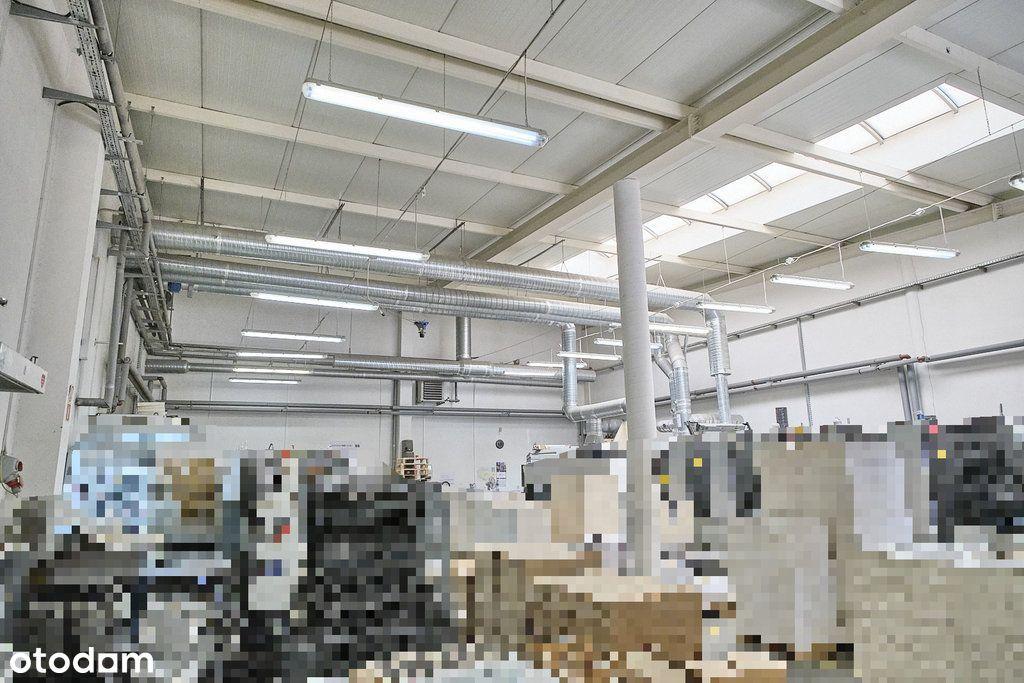 Bud. produkcyjny 1200m2, Parter, Wysoki standard