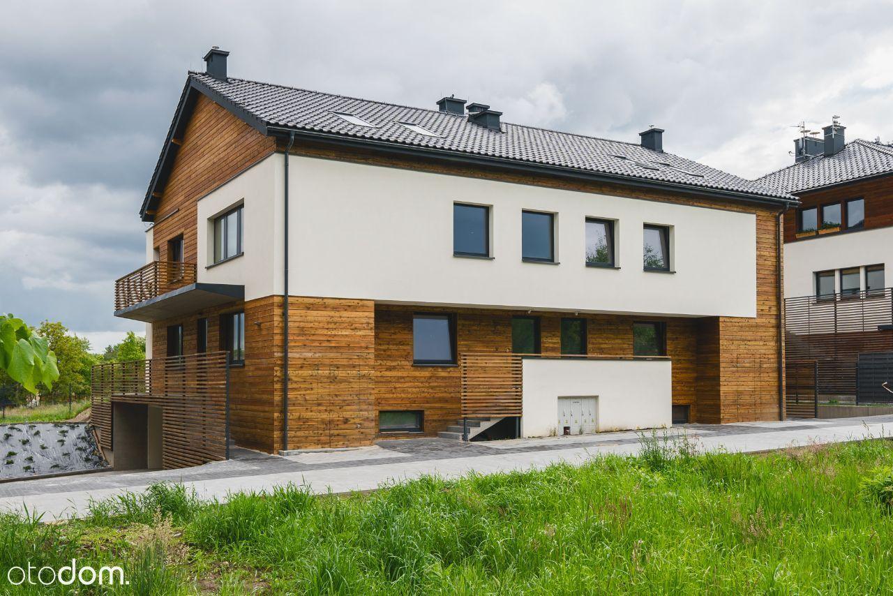 BRONOWICE / Nowy apartament z ogrodem / duży garaż