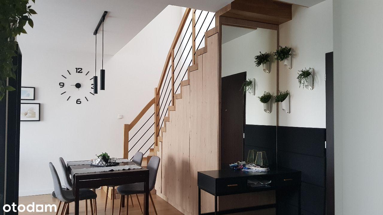 Mieszkanie z antresolą i 2 balkonami - Wrzosy