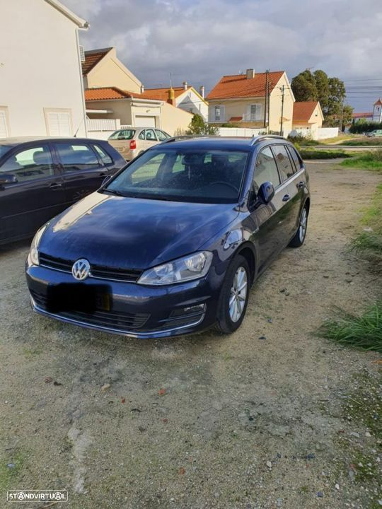 VW Golf Variant Lounge BlueMotion cx Aut DSG 7 GPS - 1