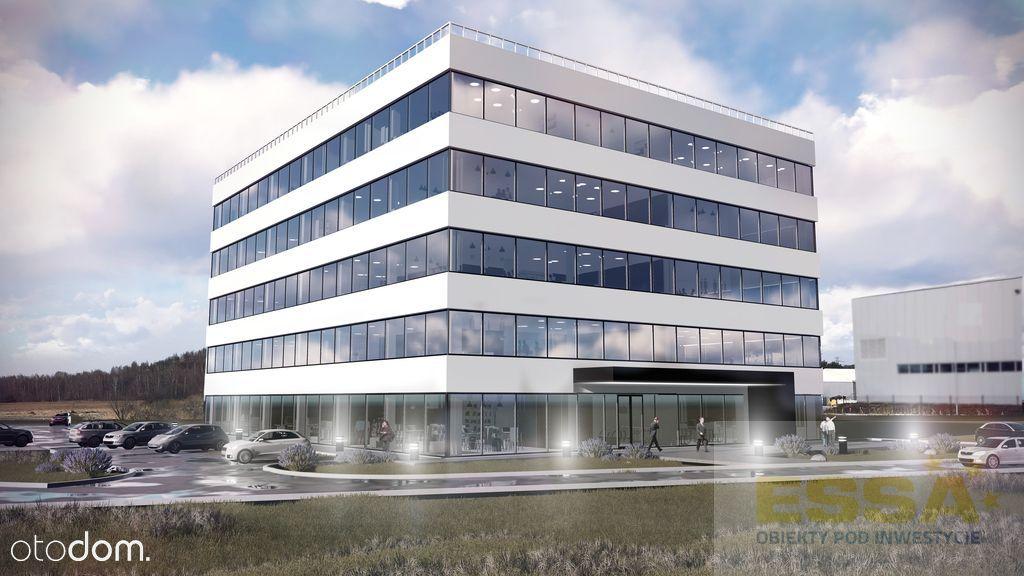 Nowy biurowiec w Strefie Gospodarczej przy A4