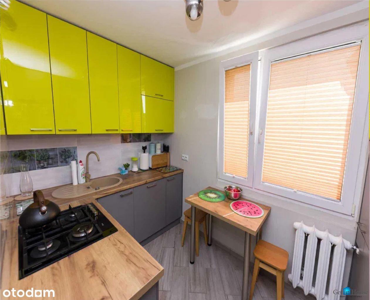 Trzypokojowe mieszkanie po generalnym remoncie